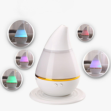 USB Power Supply Ultrasonic LED Aroma font b Humidifier b font Air Diffuser Purifier Atomizer