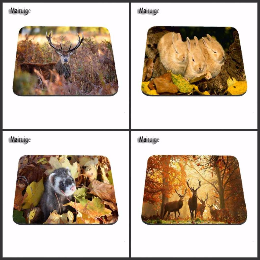 Deer Leave Custom MousePad for Size 18*22cm and 25*29cm And 25*20cm Support for Desktop for PC Optical Mouse Gaming Mat ...