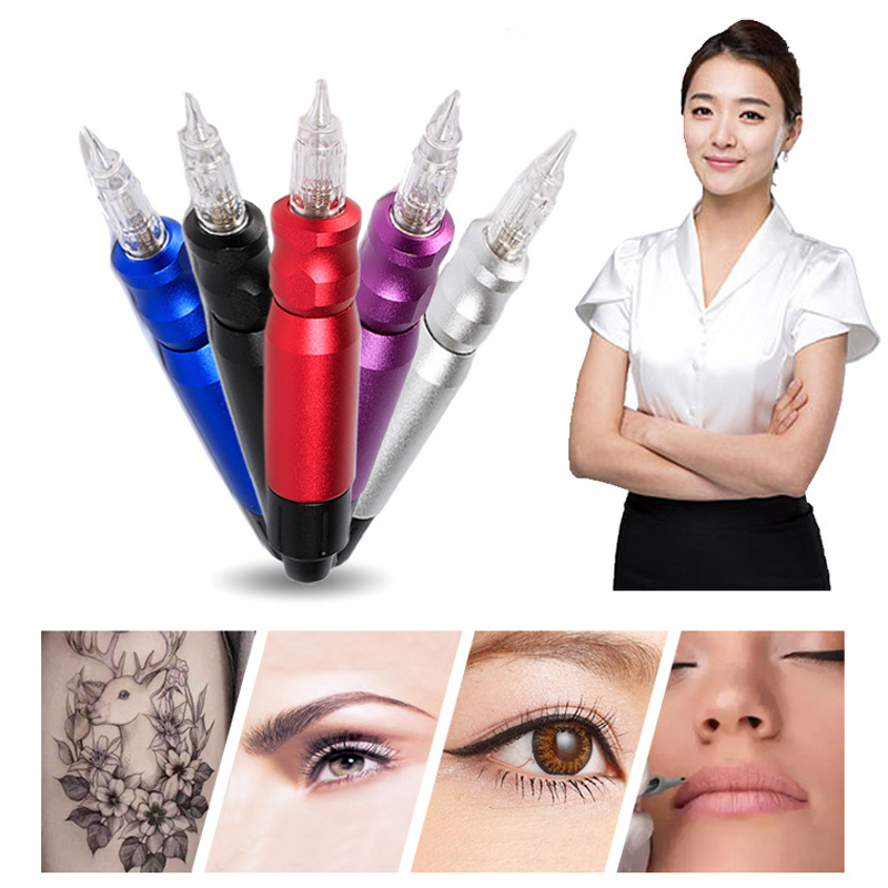 Solong Tattoo High Quality Hybrid Permanent Makeup Tattoo Eyebrow Pen Rotary Tattoo Machine Gun for shader linnner ColoringSolong Tattoo High Quality Hybrid Permanent Makeup Tattoo Eyebrow Pen Rotary Tattoo Machine Gun for shader linnner Coloring