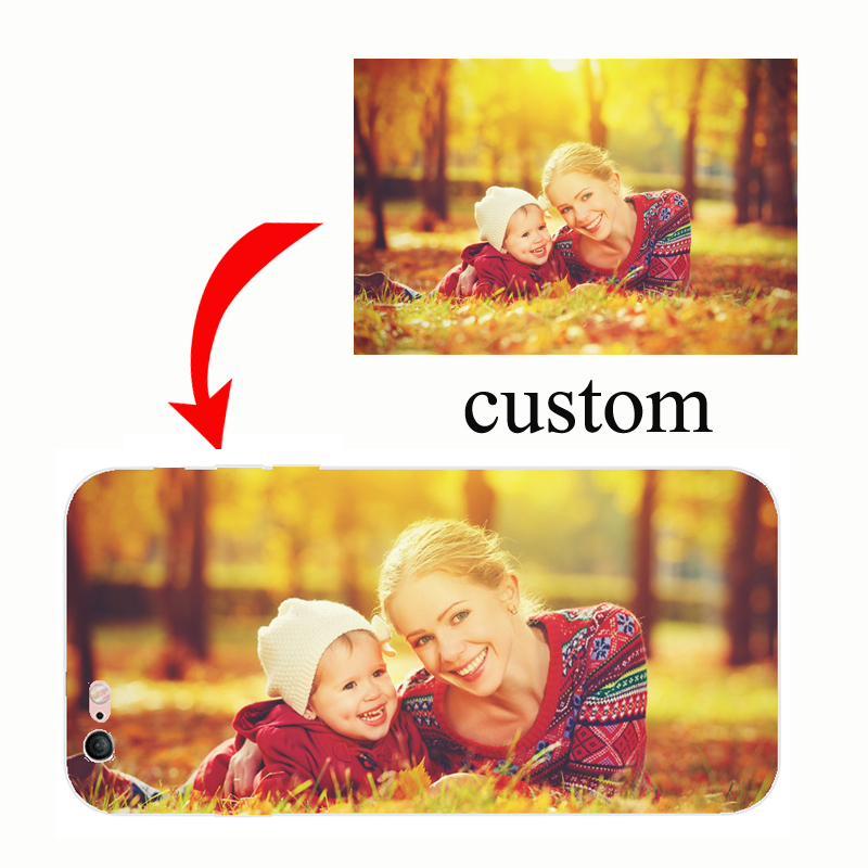 Custom DIY LOGO Design Photo Case Soft Silicon TPU Back Cover Customized Printed Mobile Phone Cases for iPhone X 5 5S 6 7 8 Plus
