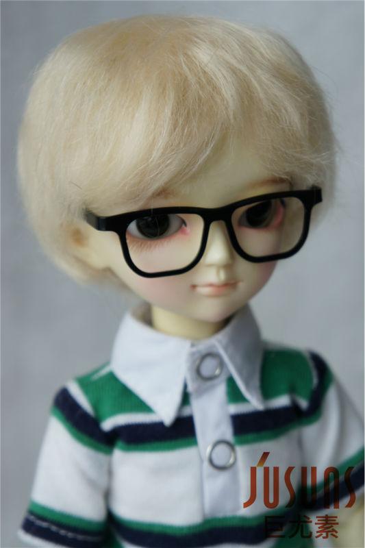 1/6  mohair doll wigs  YOSD Boy short cut  wig  6-7inch BB doll accessories Resin doll accessories Toy hairs