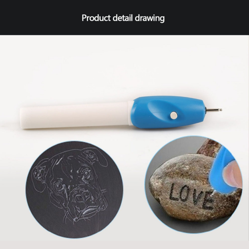 Portable Electric Engraving Pen Electric Lettering Pen Carve DIY Tool For Jewelry Metal Glass Plastic Carving Wood Metal Glass