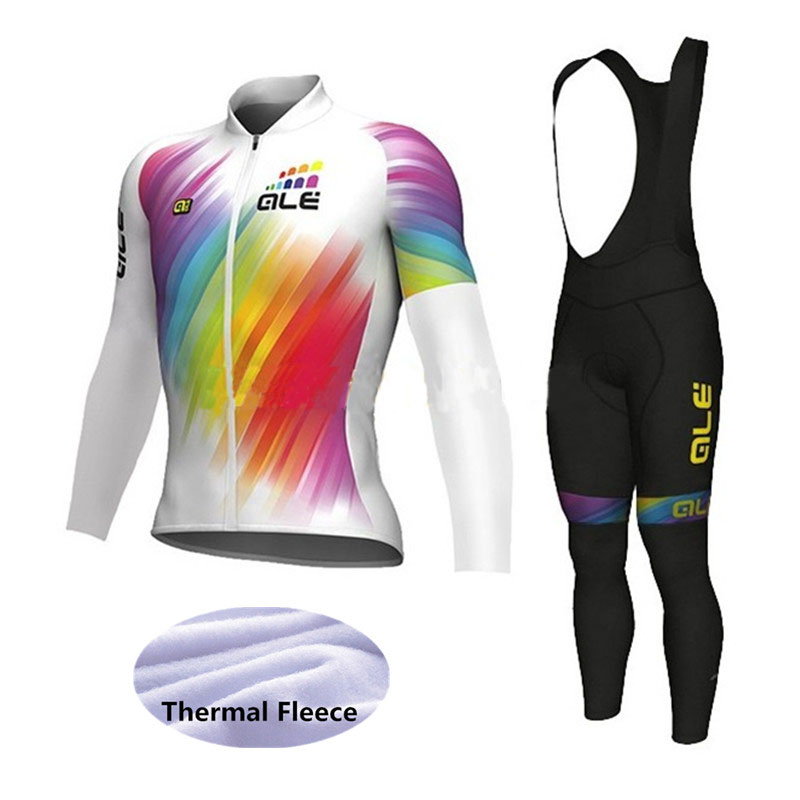 2017 Thermal Fleece ALE Cycling Jersey Winter Bike Wear Maillot mens Ropa Ciclismo Invierno Hombre Bicycle Clothing women