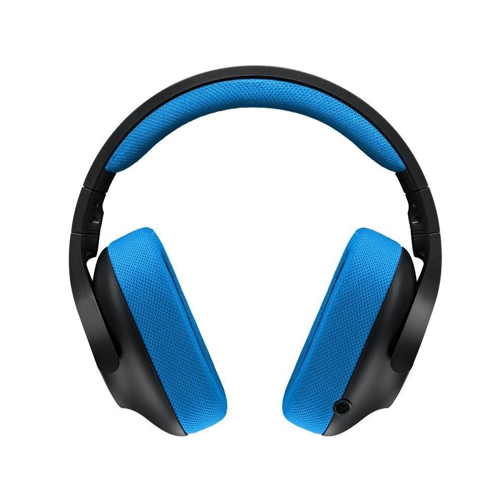 Logitech G233 Jeu Prodige Casque pour PC, PS4, PS4 PRO, Xbox Un, Xbox One S, nintendo Commutateur