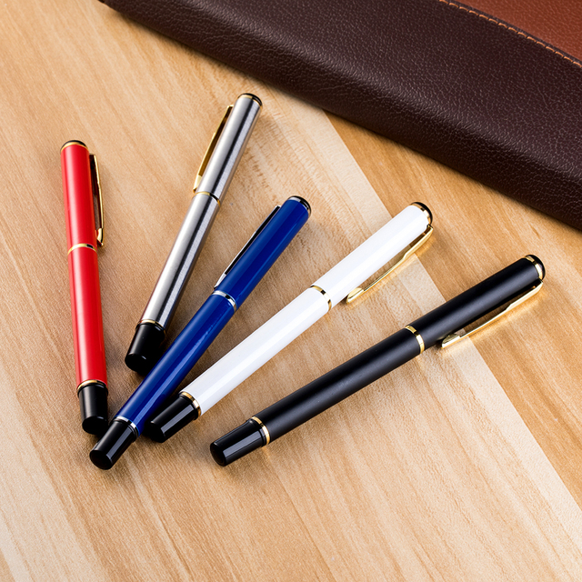 Stationery manufacturers office metal ball pens for school supplies school business gifts pen