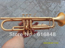 New Brand Bb Trumpet High Quality Brass Professional Musical Instrument Surface Gold Plated Trumpet With Case