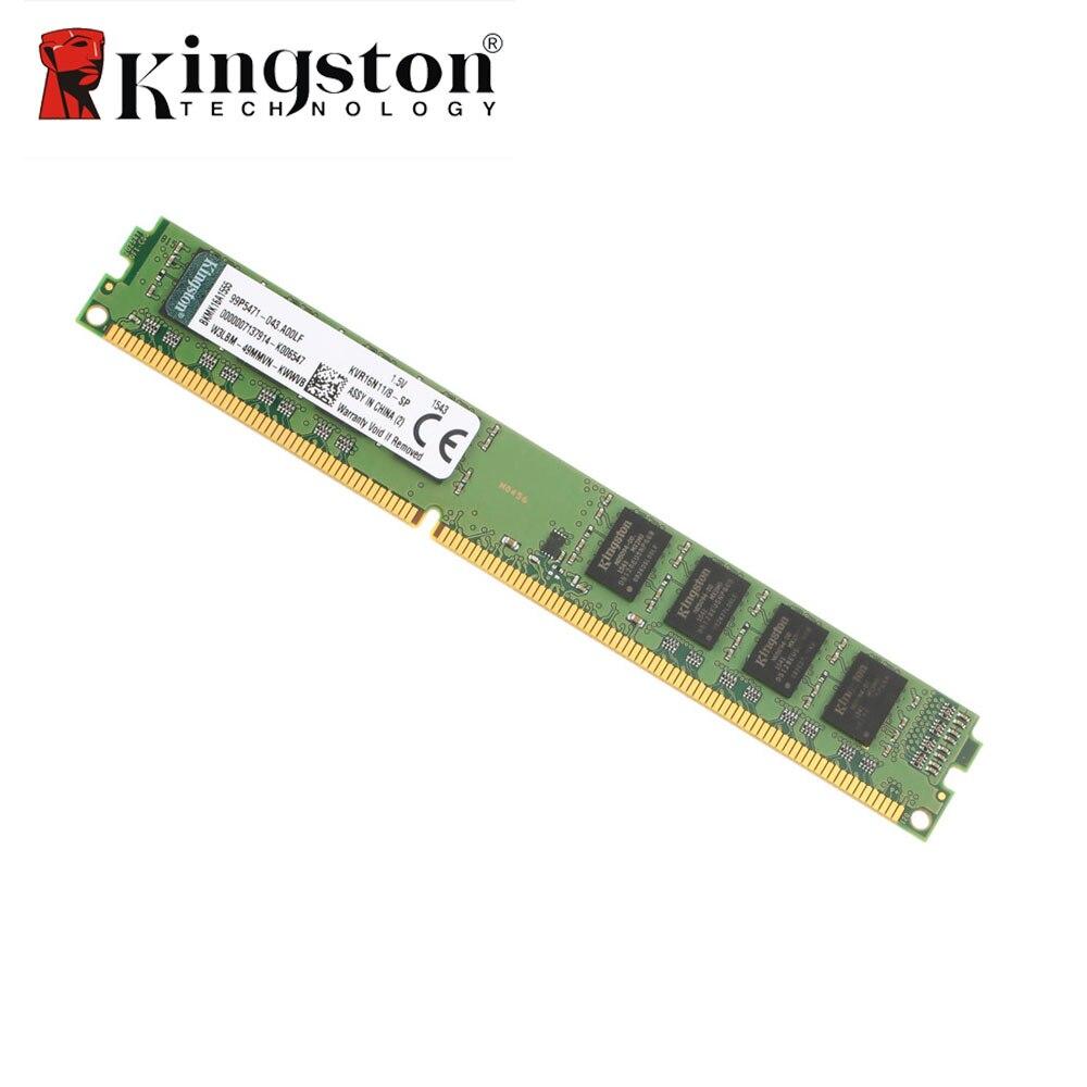 Prix pour D'origine Kingston RAM DDR3 4 GB 8 GB 2 GB 1600 MHz DIMM Intel DDR Memoria Deaktop PC Mémoire Bâton Module 3 Année Garantie KVR16N11