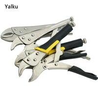 Yalkuロックプライヤーケーブルワイヤーストリッパーカッタークリンパー自動多機能10インチプライヤーマルチツールプライヤーハンドツー