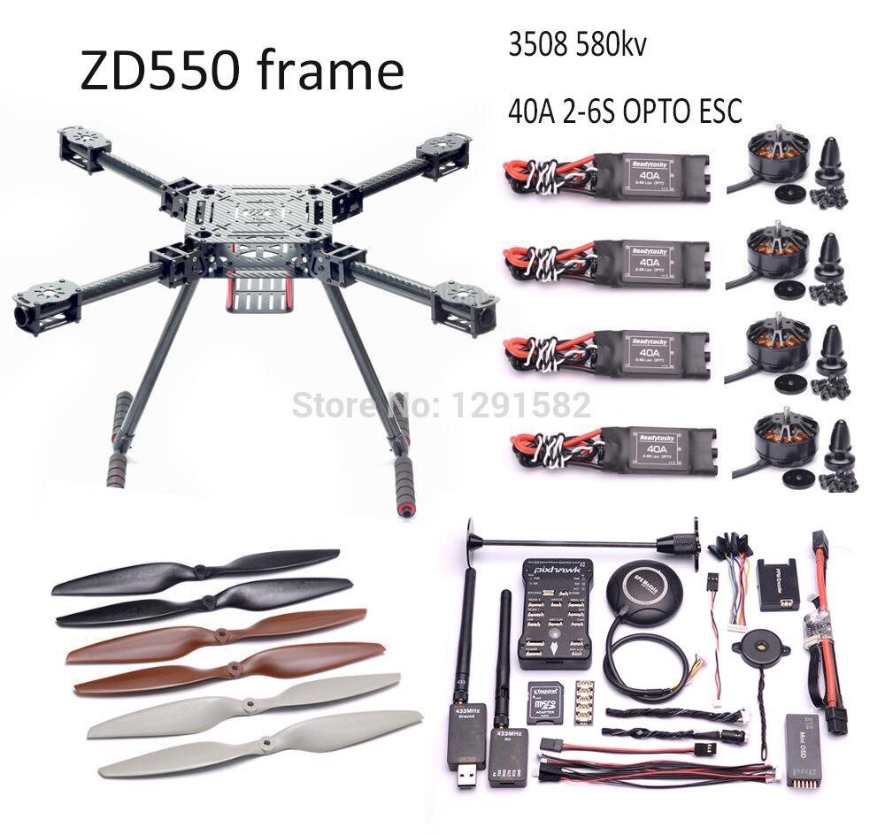 Aliexpress Com Buy Zd550 Zd 550 Carbon Fiber Quadcopter