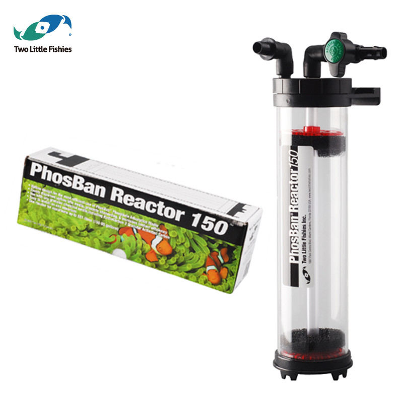 U S A Two Little Fishies phosban reactor 150 Multifunction reactor filter equipment NP bean beans