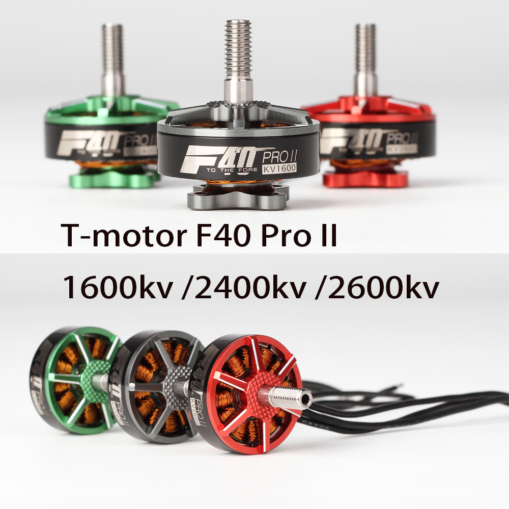 4pcs T motor F40 PRO II 1600KV 2400KV 2600KV FPV Brushless Electrical Motor Waterproof for FPV