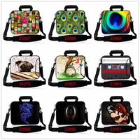 Soft Customized Neoprene Laptop Sleeve Bag Notebook Tablet Case For Macbook PC 7 10 12 13