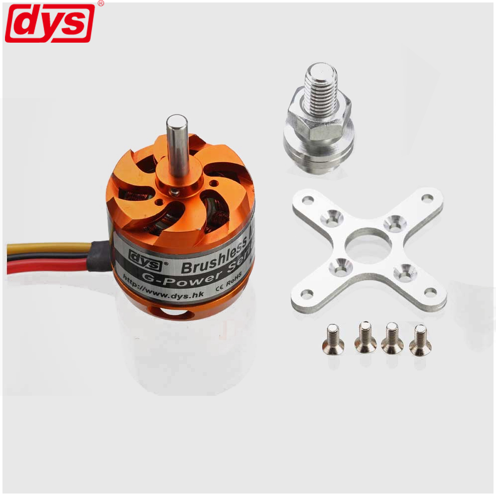 DYS D3542 <font><b>1450KV</b></font> 1250KV 1000KV Brushless Multicopter Outrunner Motor For Mini Multicopters RC Plane Helicopter image