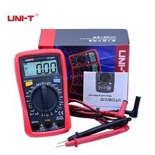 UNI-T UT33B+ Palm size Multimeter LCD backlight manual range AC DC voltage 600V resistance +battery status indicators tester