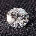 Rainha Brilho Preço de Atacado 2ct 8mm F Cor Rodada Cut Lab Grown branco Solto Moissanite Teste Positivo Diamante Livre grátis