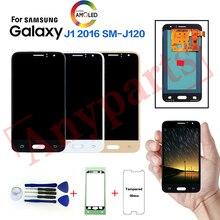 Для samsung Galaxy J1 SM-J120F J120FN дисплей ЖК-экран Замена для samsung J120G J120H J120M J120A дисплей