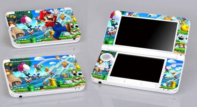 Charming Super Mario 300 Vinyle Peau Autocollant Protecteur Pour Nintendo 3DS XL LL  Skins Autocollants