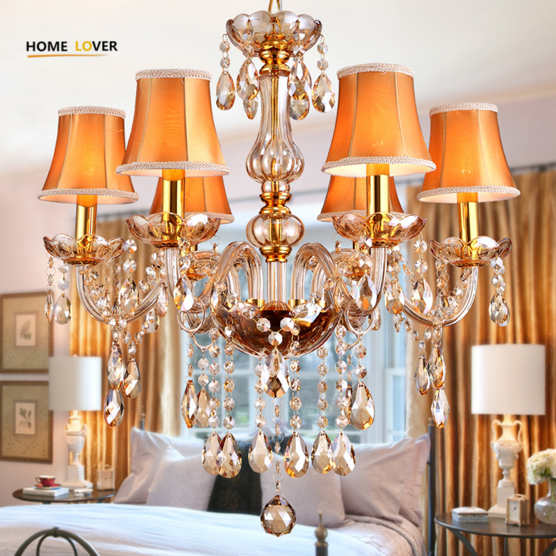 newly red k9 crystal chandelier lustre crystal chandelier optional lustres de cristal chandelier ac guaranteed free shipping Modern crystal chandelier K9 crystal 110~240V lustres de cristal chandelier for living room Kitchen light Lamp lustre para sala