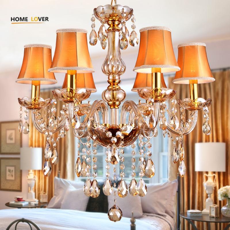 Modern crystal chandelier K9 crystal 110~240V lustres de cristal chandelier for living room Kitchen light Lamp lustre para sala цена 2017