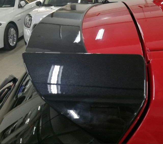 For <font><b>bmw</b></font> F20 <font><b>F21</b></font> <font><b>spoiler</b></font> rear wing 116i 120i 118i M135i 2012 to up Universal <font><b>spoiler</b></font> high quality ABS Primer baking paint color image