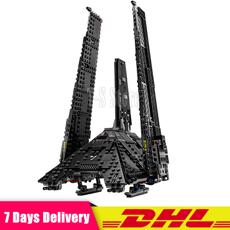 DHL LEPIN 05049 Stars Series War Movie The Imperial Shuttle DIY Model Building Kits Blocks Bricks Children Toys Christmas Gift lepin 05077 stars series war the ucs rupblic set star destroyer model cruiser st04 diy building kits blocks bricks children toys