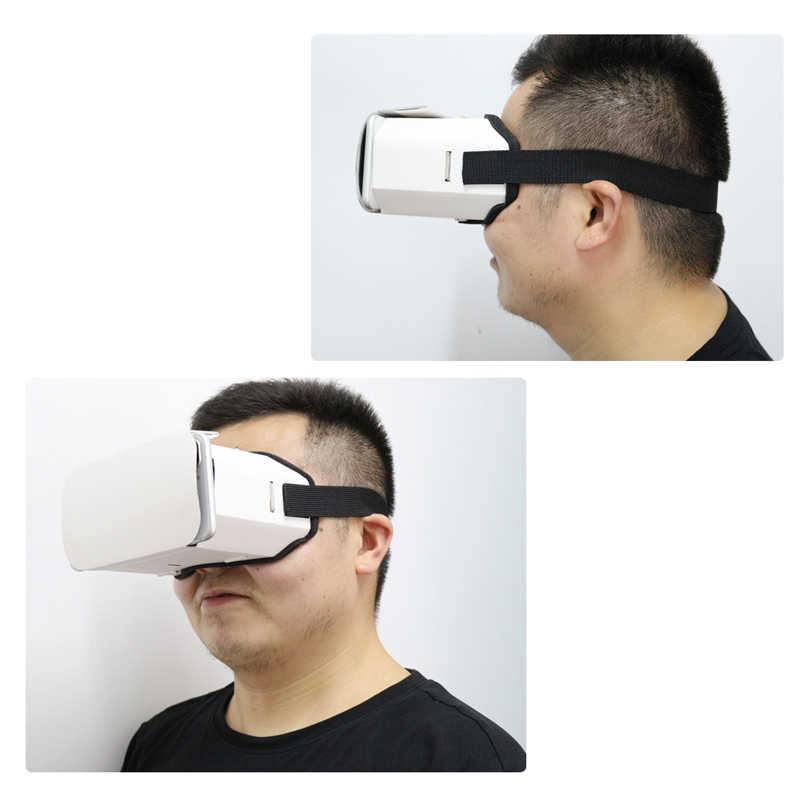 DIY Портативные Очки виртуальной реальности Google Cardboard 3D очки VR коробка для смартфонов для Iphone X 7 8 VR