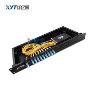 High Quality Single Fiber BIDI 100GHz C21 C25 TO C60 4Channal DWDM With UPG Port ITU Grid Dense Wavelength Division Multiplexer