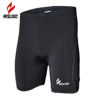 ARSUXEO Compression Tights Base Layer Gym Fitness Underwear Men S Cycling Running Football Soccer Basketball Shorts