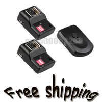 PT-16 Kanäle Wireless Flash Trigger SET mit 2 Empfänger 1 Sender + Empfänger 2 + 1 Synchronkabel