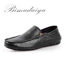BIMUDUIYU Hommes de Printemps D'été Paresseux Mocassins Haute Qualité Casual Chaussures Élégant de Style Paresseux Plat Grande Taille 11 Conduite Douce chaussures