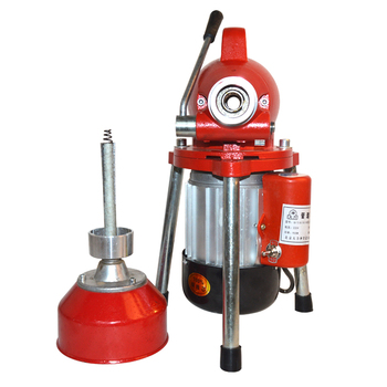 Automatic Dredge Machine GQ-80 Electric Pipe Dredging Sewer Tools Professional Clear Toilet Blockage Drain Cleaning Machine 1PC