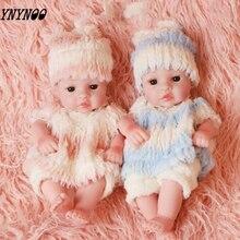 30cm Reborn Doll Regeneration Silicone Female Toy Simulation Rebirth Male Childrens Gift