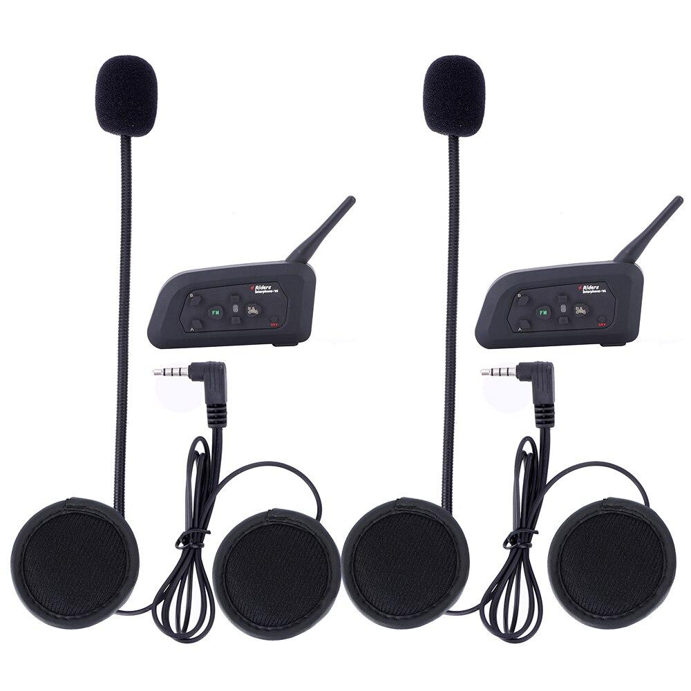 4 unids V4 1200M 4 jinetes interphone full dúplex bluetooth - Accesorios y repuestos para motocicletas - foto 5