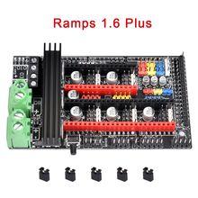 Ramps 1,6 Плюс обновление Ramps 1,6 1,5 1,4 материнская плата Поддержка A4988 DRV8825 TMC2208 TMC2130 Reprap водителя для 3D-принтеры Запчасти