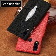 電話ケース Huawei 社ノヴァ 3 P9 P10 P20 Lite 名誉 7X メイト 9 10 20 プロ 1080p スマート Y6 タイ真珠の魚アカエイ Dasyatis akajei キャパ