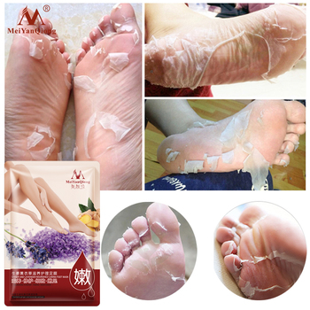 Super 1Packs Peeling Feet Mask Exfoliating Socks Baby Care Pedicure Socks Remove Dead Skin Peeling Cuticles Heel Feet Care Cream Beauty Essentials