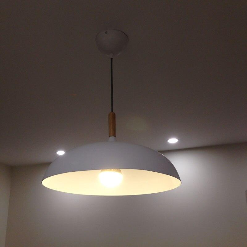 modern retro lighting. wooden light modern retro aluminum pendant lamp industrial black white shade hanging lights for home storein from u0026 lighting on