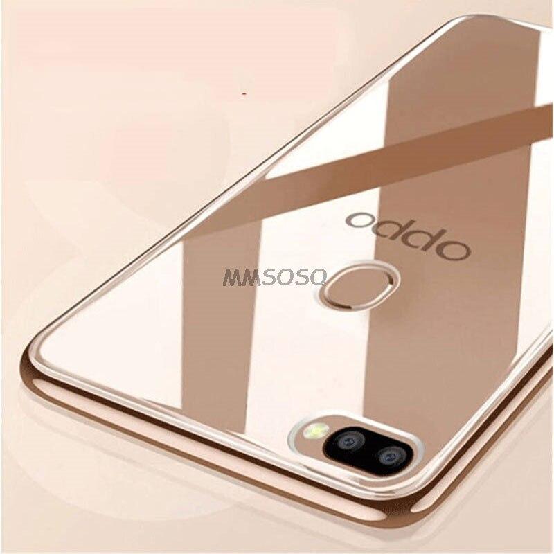 OPPO F9 Case 6.3 Transparent TPU Soft Case For OPPO F9 F 9 Pro F9Pro CPH1823 CPH1825 CPH1881 CPH1828 Silicone Back Cover