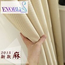 Linen curtains for living room modern curtains for bedroom blackout curtains cortinas para sala de luxo
