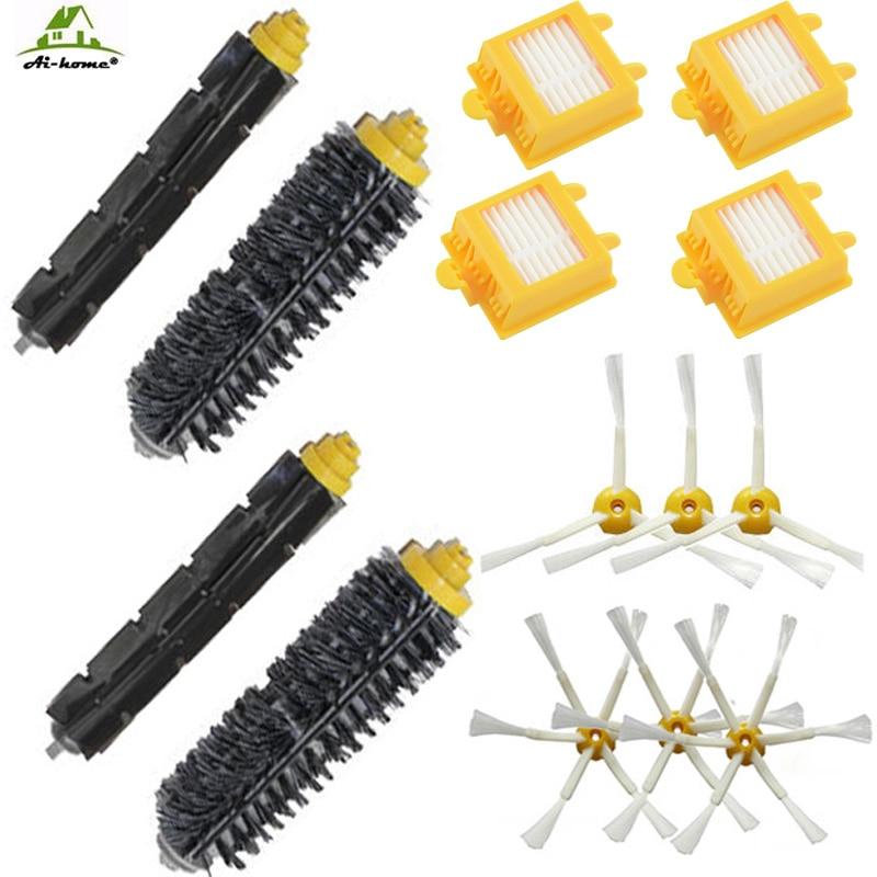 700 Hepa filter Beater+Bristle Brush+Side Brush for irobot Roomba 760 770 780