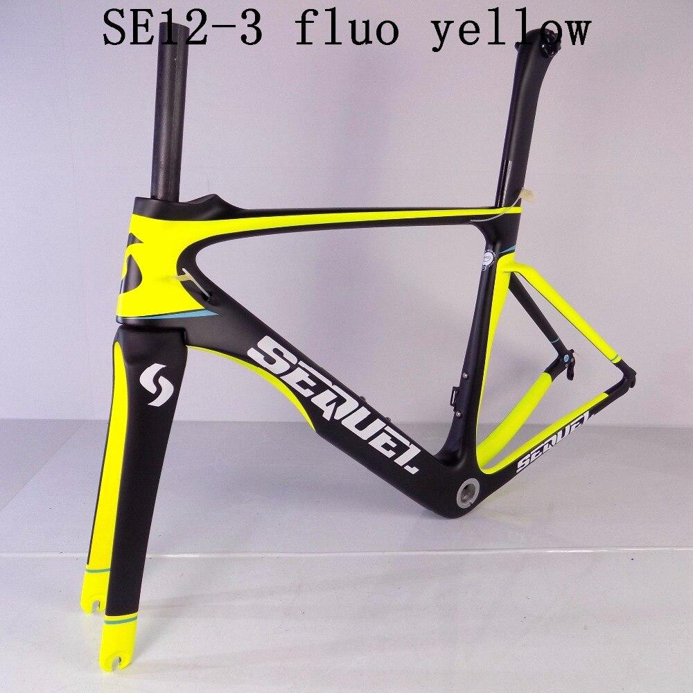 Nouveau cadre de vélo de route en carbone rouge cadre en carbone noir vélo de route PF30 VIAS