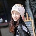 new fashion femme skullies autumn beanies winter warm chapeau women hat female knitted cap ladies bonnet