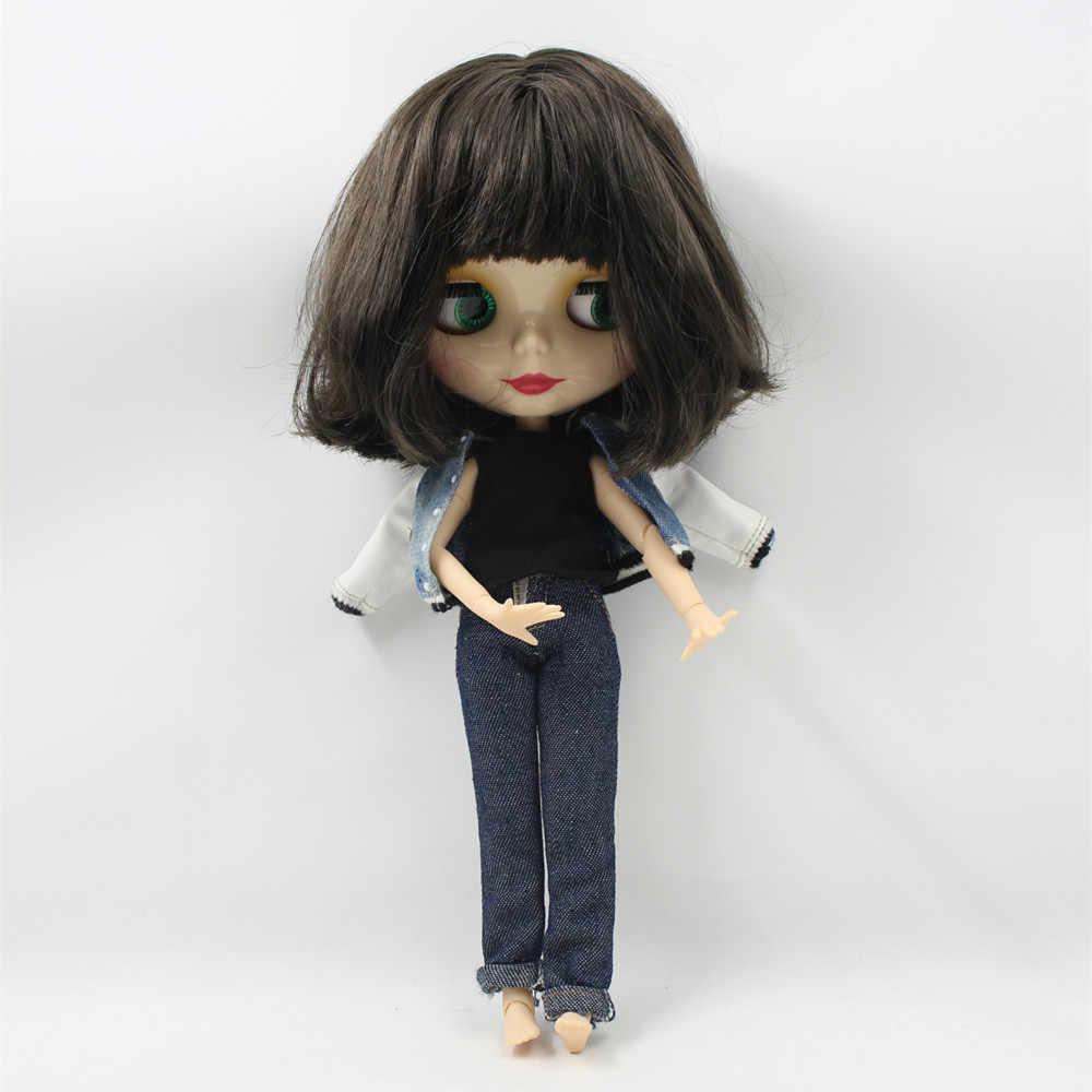 Голая кукла мужской Шота для серии No.130BL950 шарнирное тело с челкой черные волосы подходит для DIY Изменение игрушка BJD