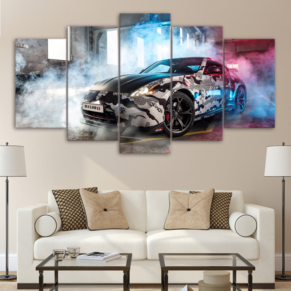5 Panel Overwatch Mercy Decoration Game Poster Modern Canvas Printed ...