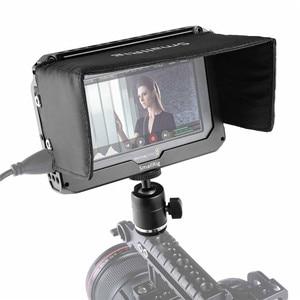 "Image 5 - SmallRig Monitor Cage Kit для Blackmagic Design Video Assist 5 ""монитор с hdmi зажимом Sunhood Ballhead Cold Shoe 1981"