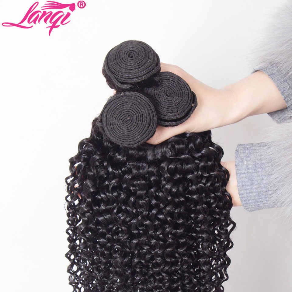 Mongol kinky cabelo encaracolado pacotes de cabelo humano pacote não remy brasileiro peruano cabelo tecer extensões de cabelo pode comprar 3 4 pacotes