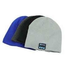 Smart Warm Beanie Hat with Built in Wireless Bluetooth Headphones Speaker Mic Co