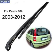 Xukey ramię wycieraczki tylnej szyby zestaw ostrzy zestaw dla Fiat Panda 169 2012 2011 2010 2009 2008 2007 2006 2005 2004 2003