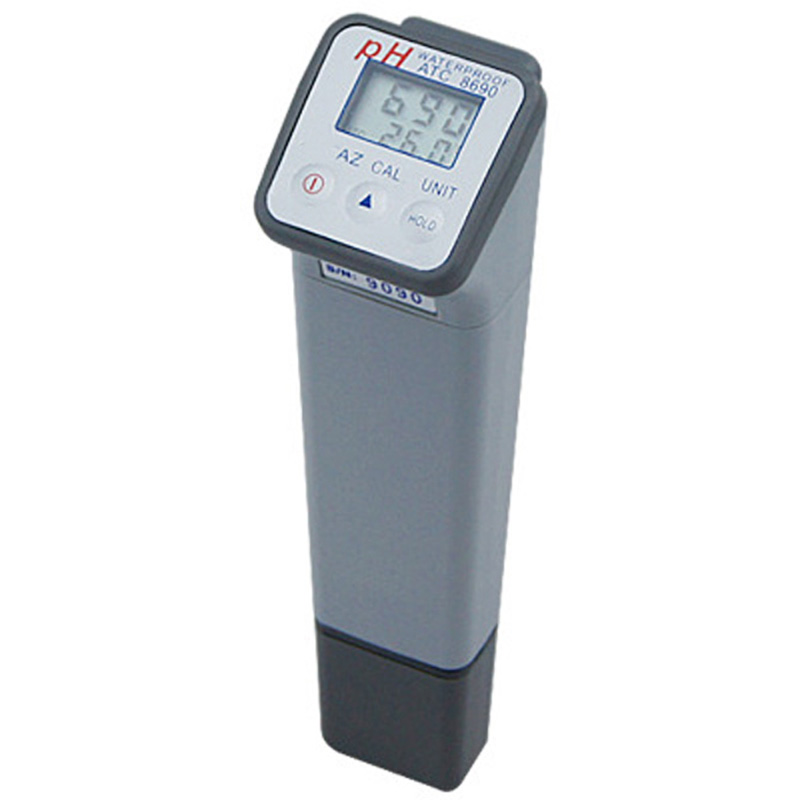Digital Water ph meter 0-14 Water Quality Meter ph tester automatic compensation AZ-8690 цена