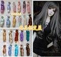 15 см * 100 см BJD Парики высокотемпературная Мода Вьющиеся Наращивание Волос Волосы Кусок Для 1/3 1/4 1/6 BJD SD Dollfie 1 шт.